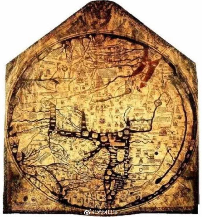 """欧洲中世纪地图和异域志怎么描绘""""东方"""""""