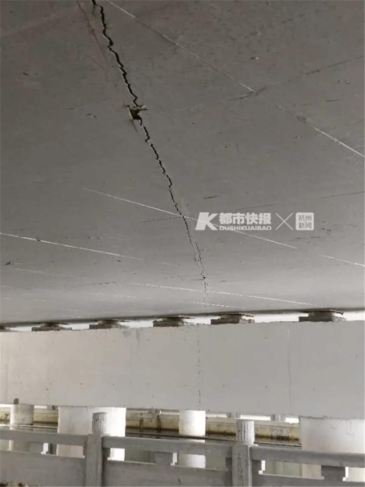 杭州一新建桥尚未开通就有两厘米裂缝?责任单位:为沉降缝