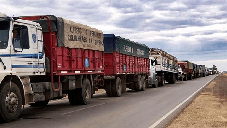 阿根廷卡车司机人为协议将直接影响货运