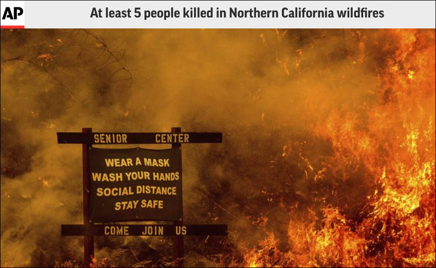 美国加州都这样了,特朗普还趁人之危