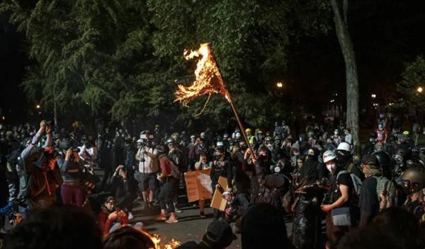 美国波兰特市抗议活动发生枪击 致1人死亡