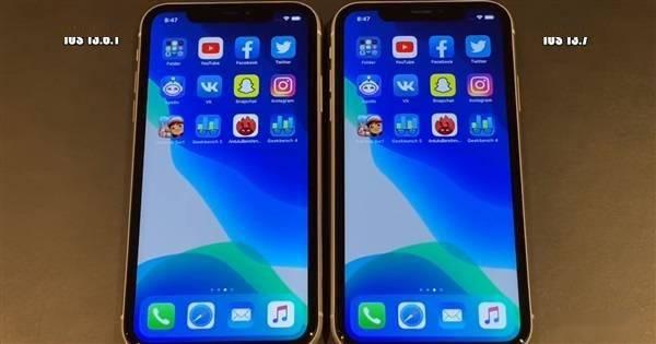 苹果iPhone SE/6S/7/XR升级iOS 13.7正式版后对比13.6.1