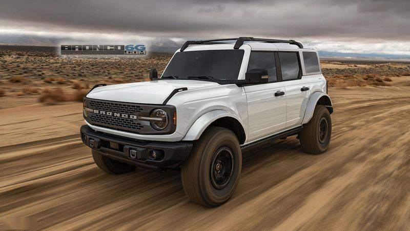 福特Bronco推出新套间!双色车身/35英寸泥