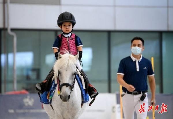 武汉22所小学开设马术公开课,探索组建高水平青少年马术队