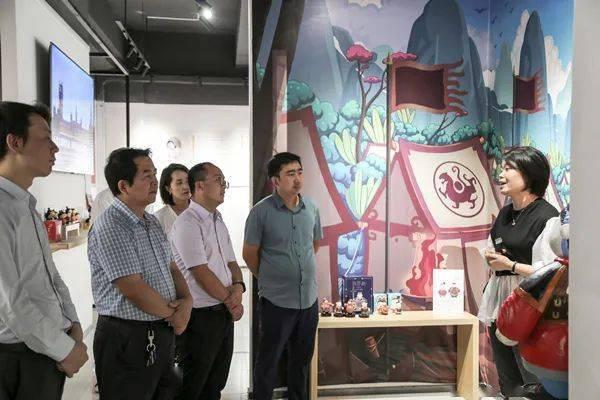 集团动态 咸阳市文化公司赴西安斑点城市文化创意设计有限公司学习交流 行业新闻
