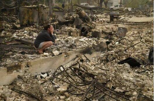 俄勒冈州大火致数十人失踪 官员:为大规模死亡做准备