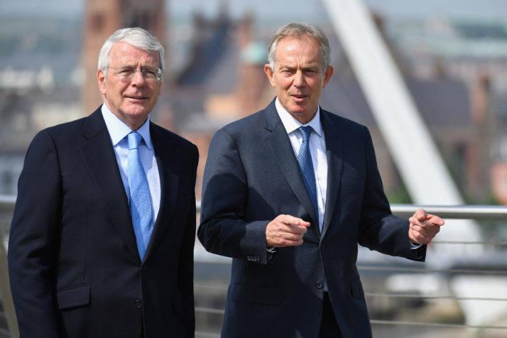 英国政府欲推违背脱欧协议的新法,两名前首相联合发声抨击