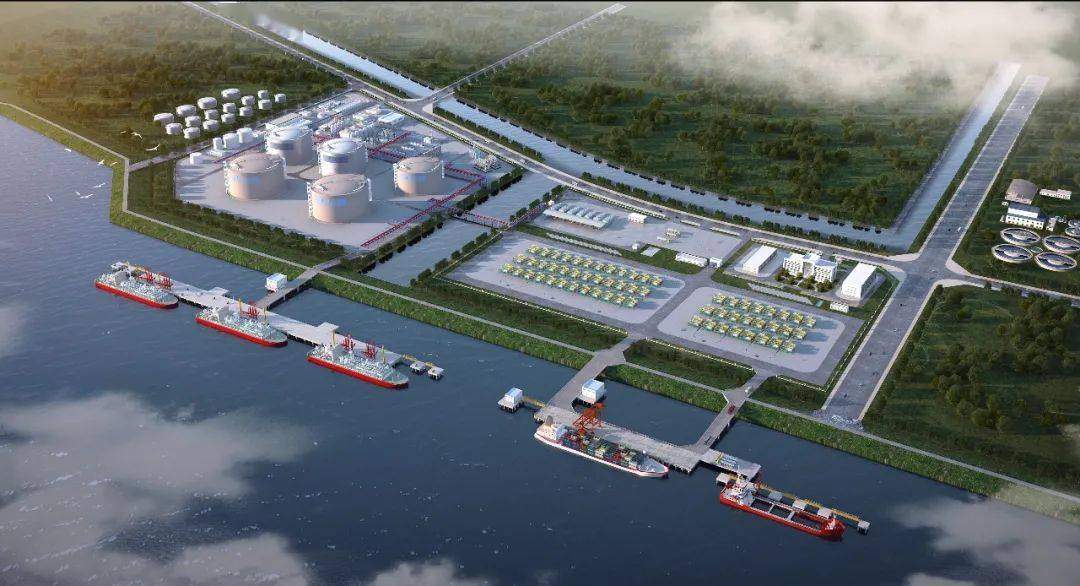 <strong>中国第一家!芜湖长江LNG内河吸收转运站项目港口岸线获批!</strong>