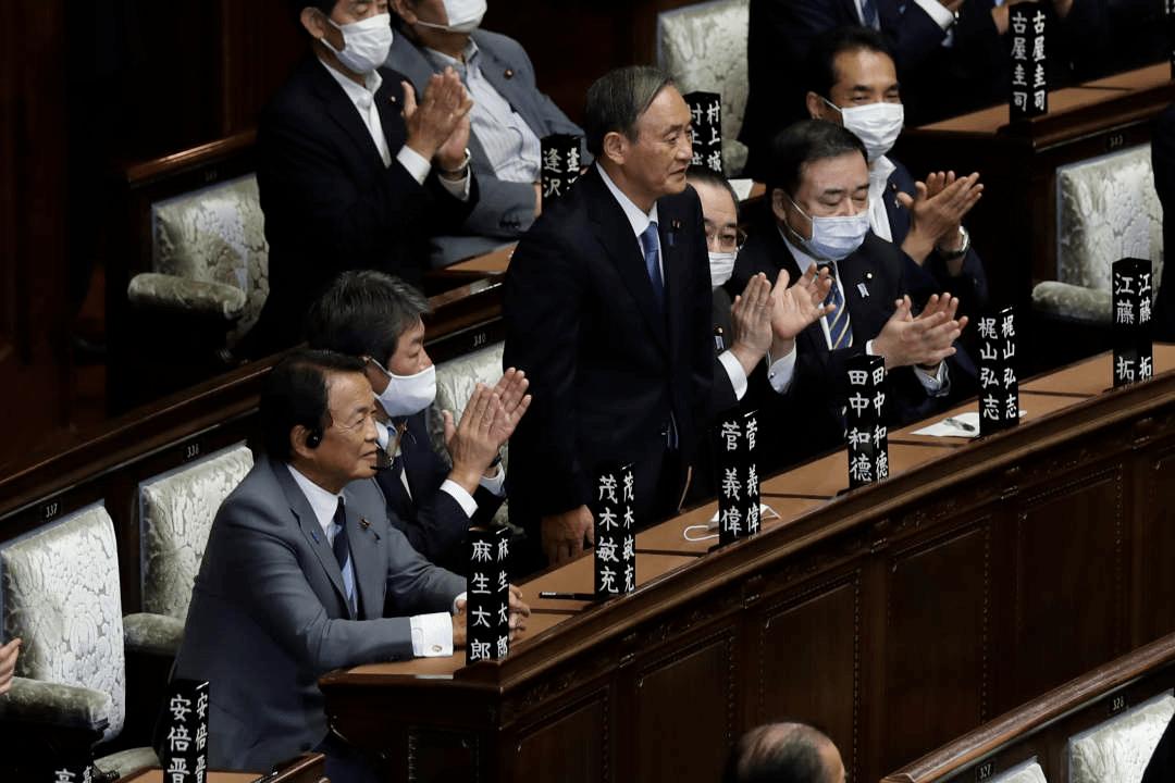农家出身的日本新首相,正式出任!