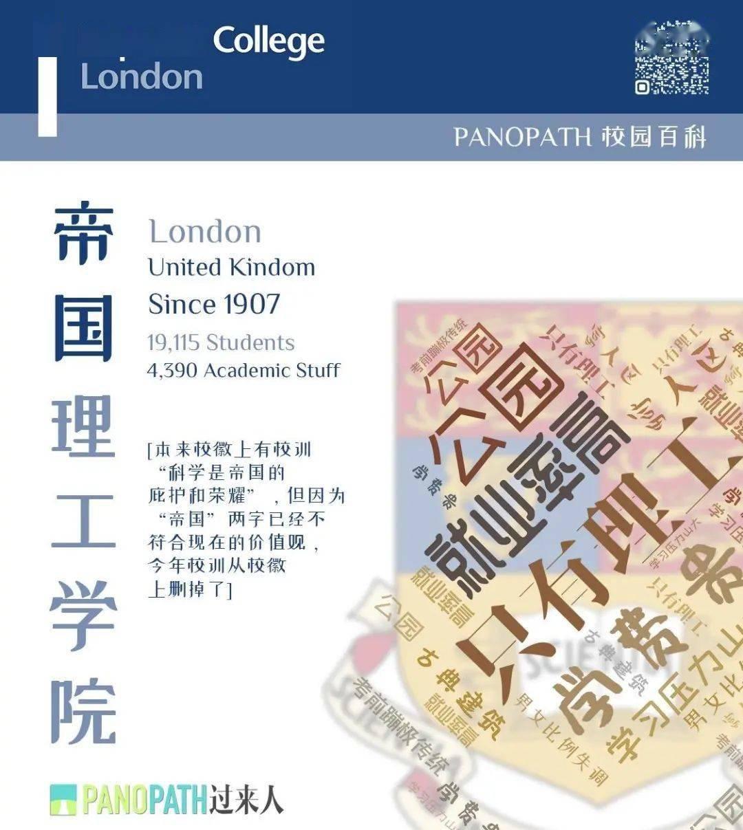 帝国理工学院 Imperial College London  真·一入理工似深海