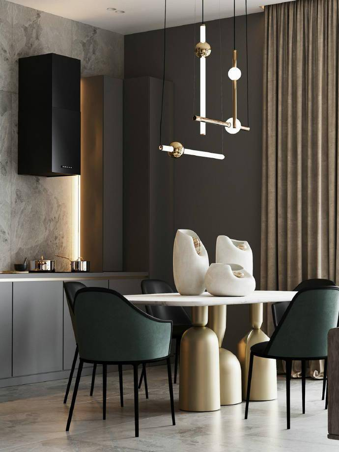 温馨的公寓,宁静舒适的生活美学 高档寓