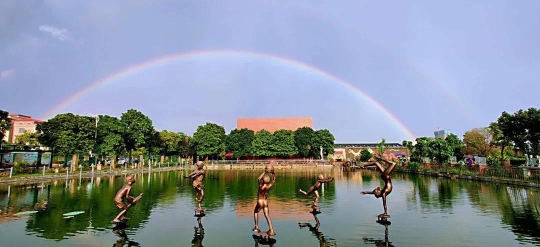 徒步紫南遇上双彩虹,佛山(禅城)旅游文化周第二天,惊喜不断!