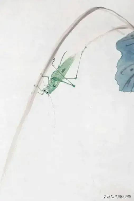 <b>草虫——吐丝母螳螂的画法</b>