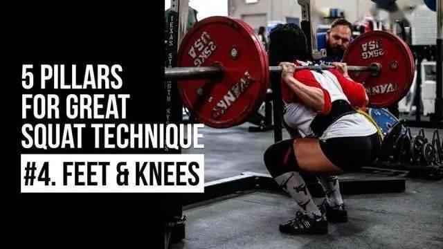 深蹲不伤膝才能练好腿!分析解决4种膝痛,无痛深蹲更给力