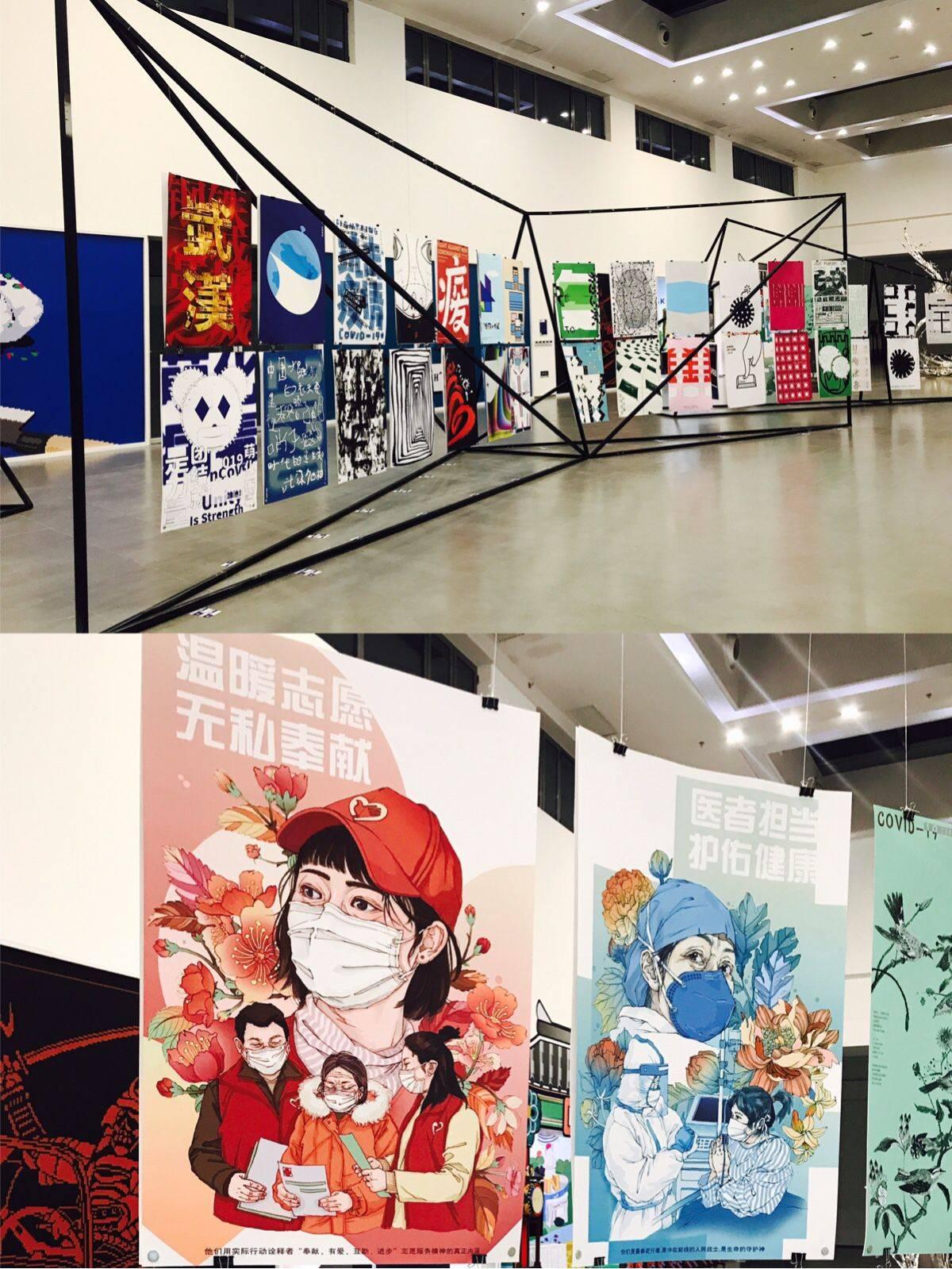 逛展│来751国际设计节,感受300多位设计师眼中的抗疫故事
