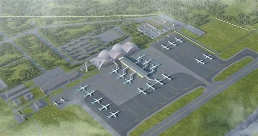 北海機場站坪擴建工程通過行業驗收