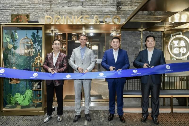 保樂力加全球首家零售旗艦店登陸上海新天地