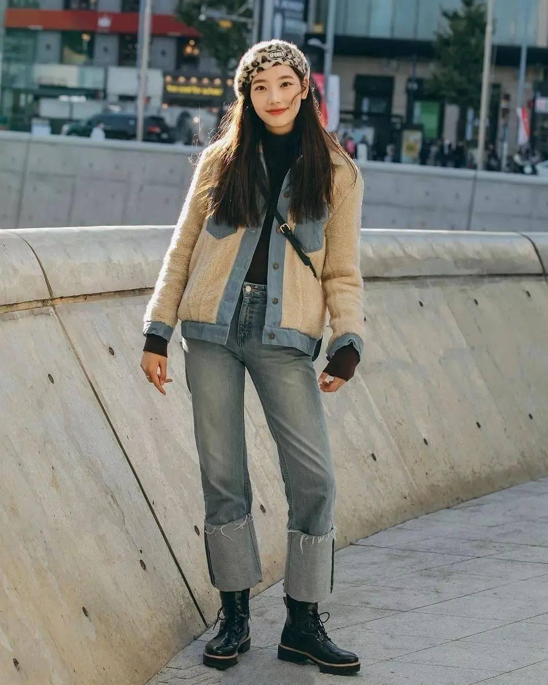 马丁靴+裙子,马丁靴+工装裤……又酷又撩,时髦炸了!     第37张