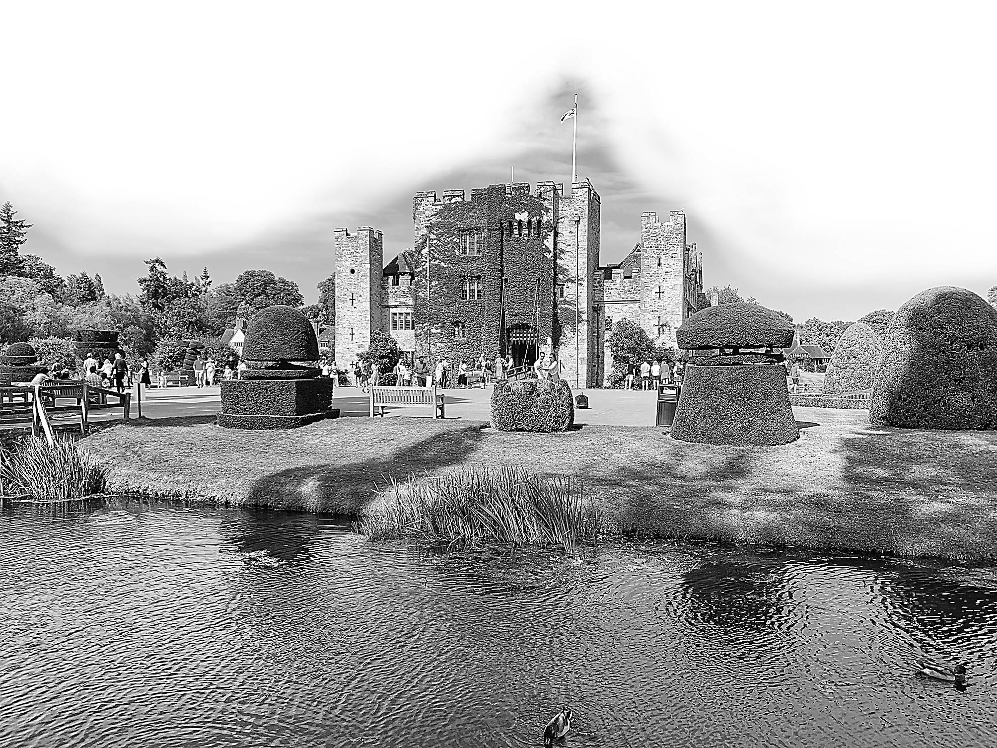 赫弗城堡,权力与爱情的角斗场