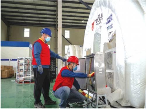 """黄岛电源保证""""火眼""""气体膜实验室可靠用电"""