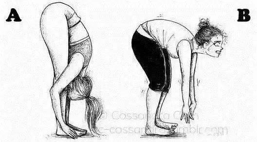 """别再用""""身体僵硬""""拒绝瑜伽,柔软身心,做回妩媚少女!"""