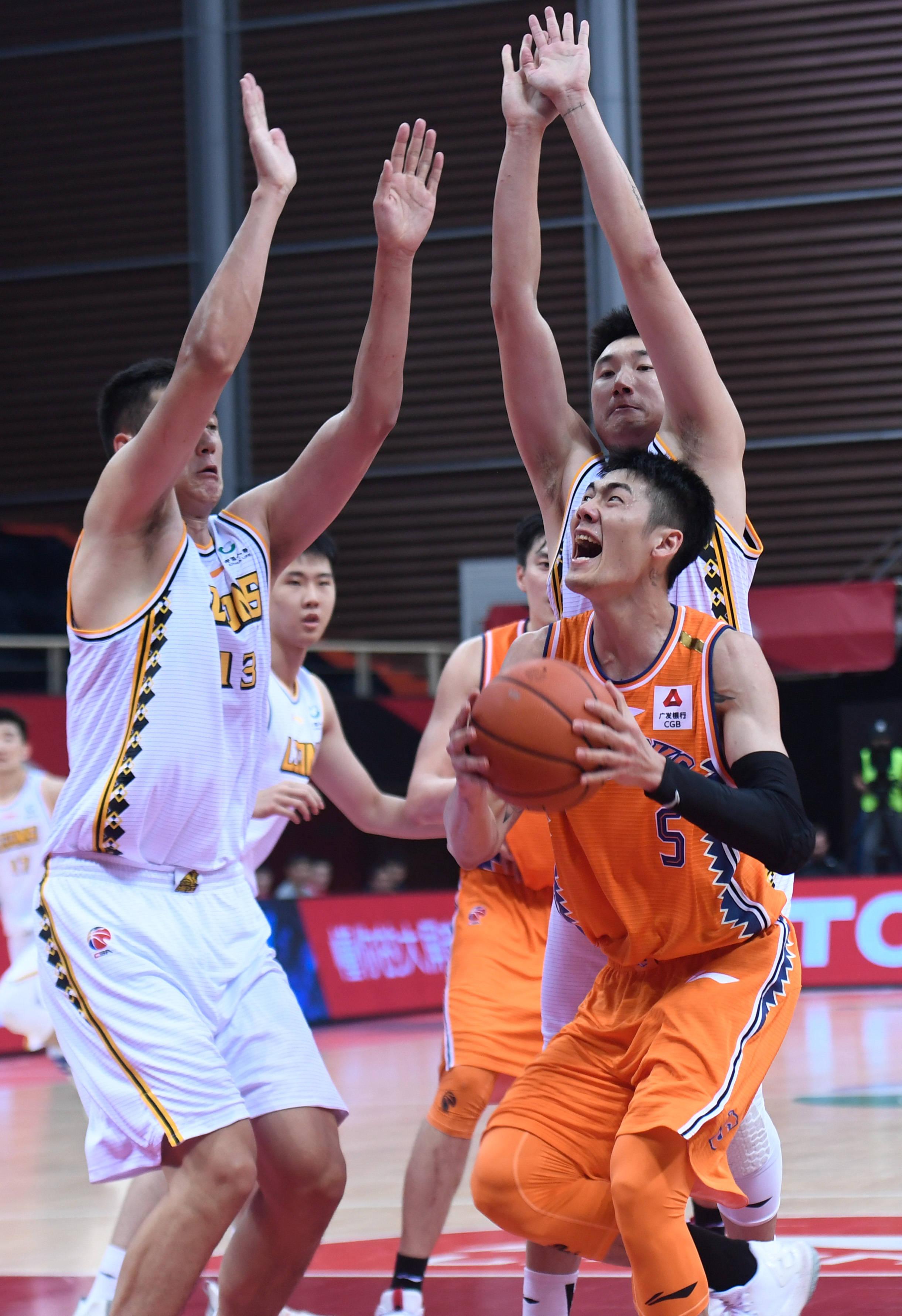 篮球——CBA第一阶段:浙江广厦控股胜上海久事