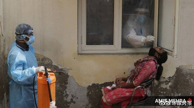 印媒称印度新冠疫情峰值已过 最终感染人数不会超过1060万