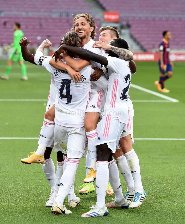 西甲|巴塞罗那1-3皇家马德里