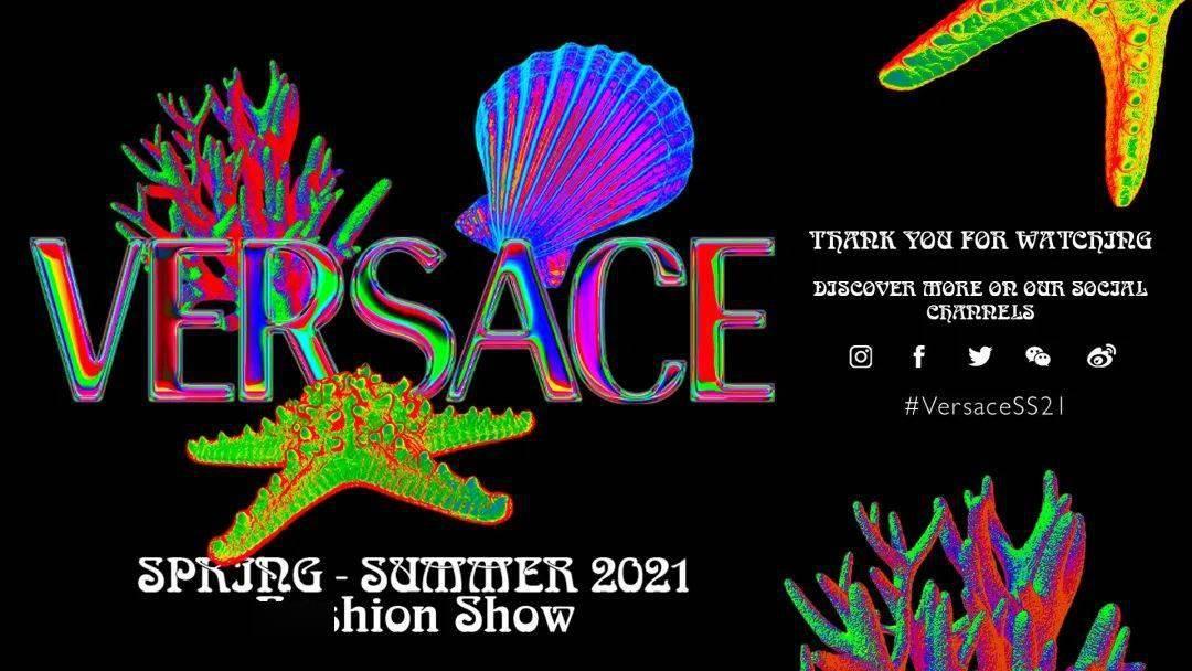 Versace 2021春夏系列 |超现实海底