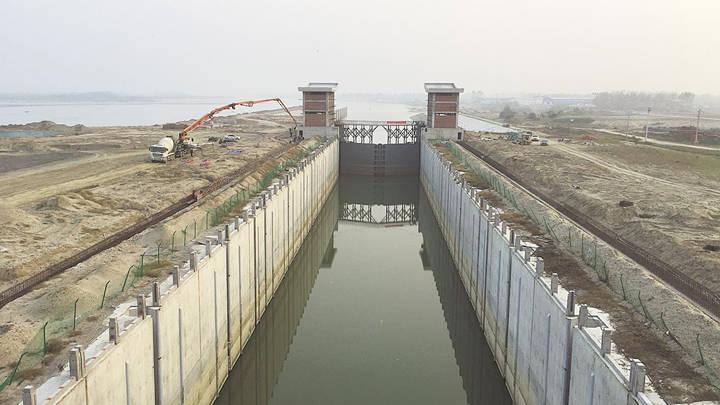 汉江雅口航运枢纽冲刺年底主体土建工程完工 将形成52.7公里千吨级航道