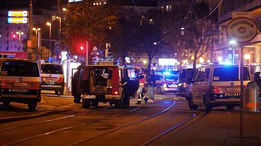"""最新消息!""""圣战分子""""宣布为维也纳恐袭负责,仍有多名全副武装袭击者在逃,欧洲多国领"""