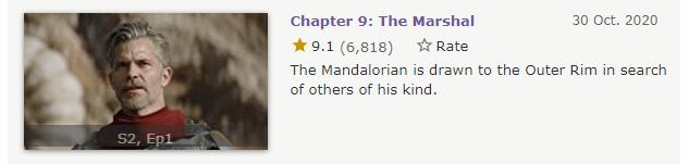《曼达洛人 第二季》影评:一集飙到9.6,宇宙最强IP回来了