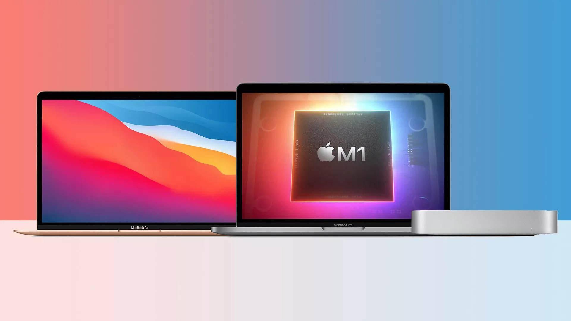 苹果发布搭载自研M1芯片的Mac系列产品,国行版5299元起售