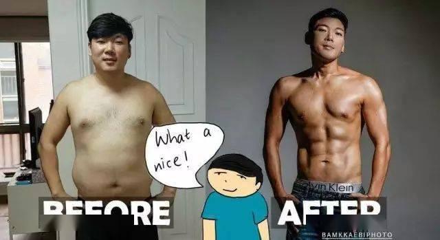 健身6个月后简直变了一个人,说是整容我都信啊....