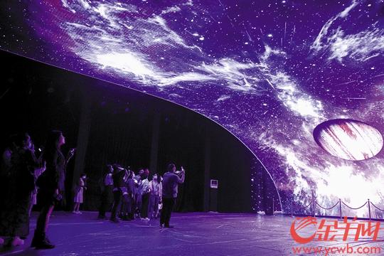 叩响幸福之门 沉浸光影游园 2020广州灯光节开幕