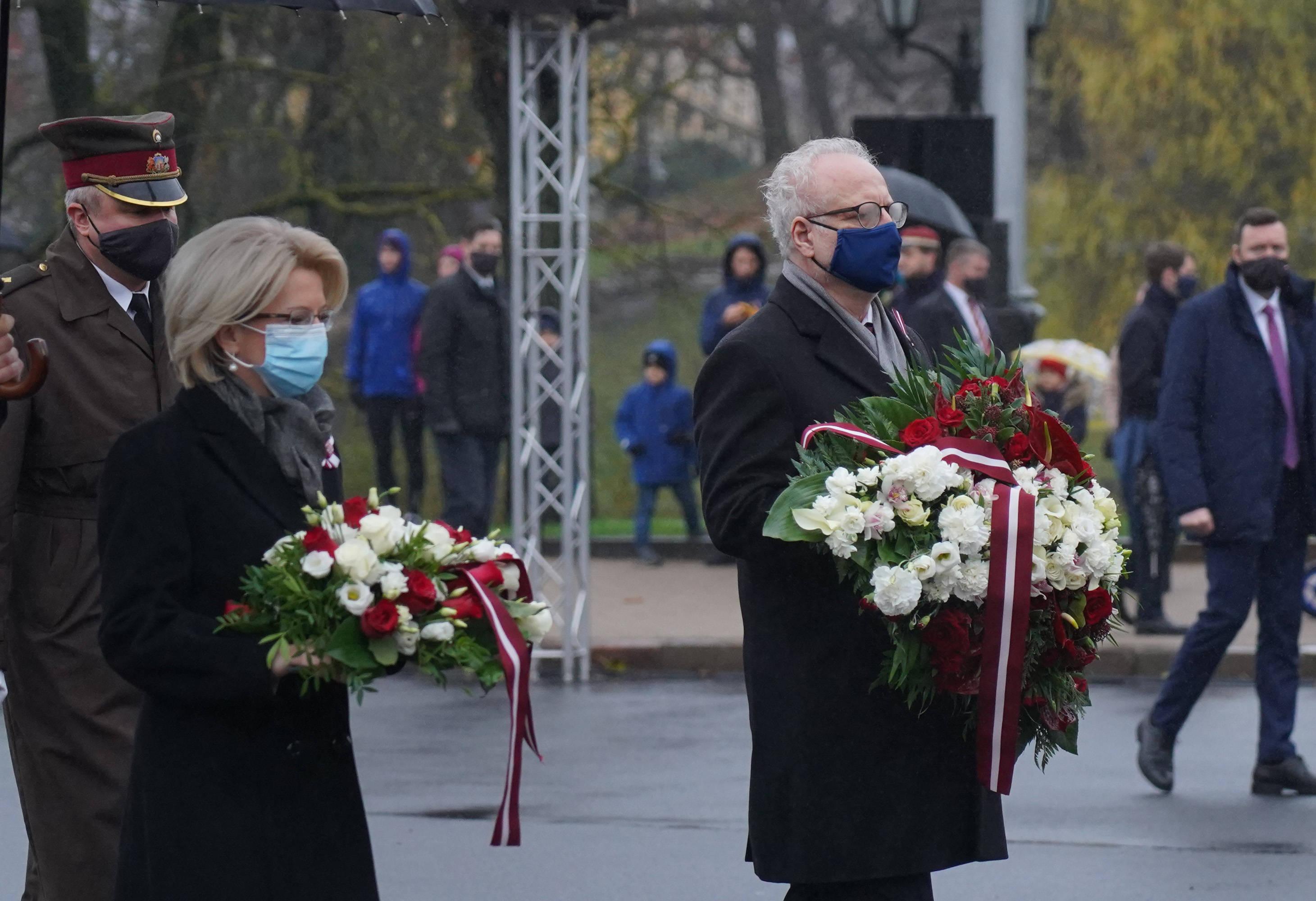 拉脱维亚庆祝独立102周年