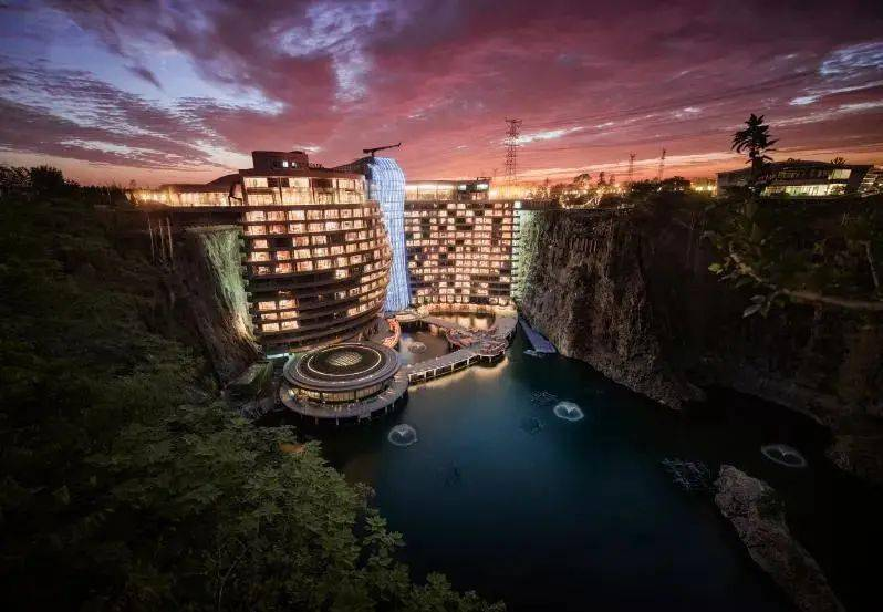 《【天游在线登录注册】可持续利用的节能热力特性 | 奇幻洲际酒店设计》