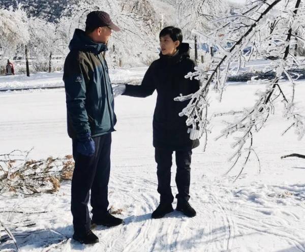 """吉林敦化六鼎山旅游区积极行动 """"迎战""""极端天气"""