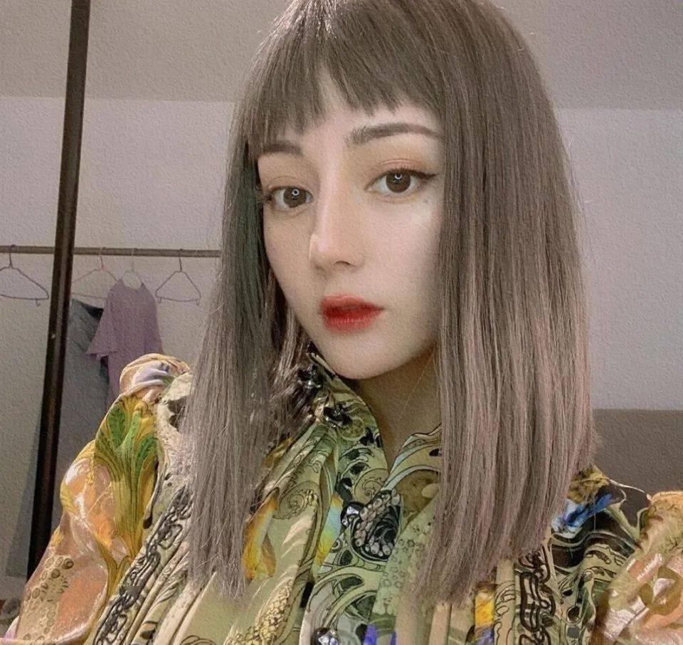 美人计 | 剪对刘海可以让脸小一圈,热巴关晓彤这种除外