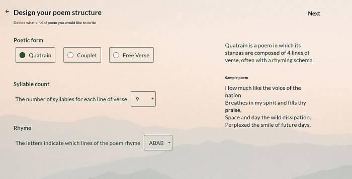 谷歌推AI工具Verse by Verse:能写出知名诗人风格的诗歌