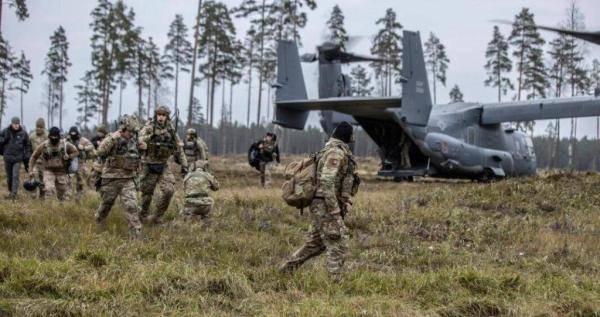 美国与爱沙尼亚举行联合演习 美出动多支特种部队