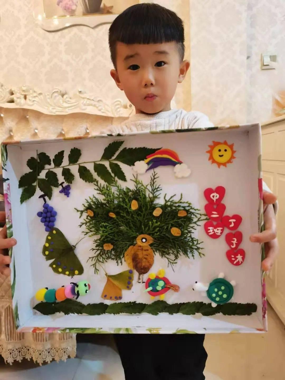多彩的秋天,美好的时光 记浉河区幼儿园亲子作品展览图片