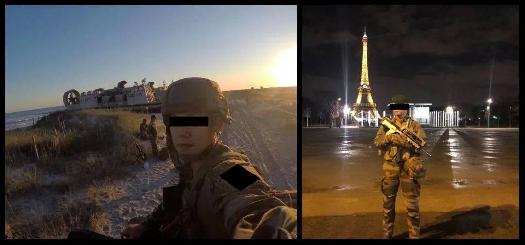 我在法国当雇佣兵,一个月挣一千二