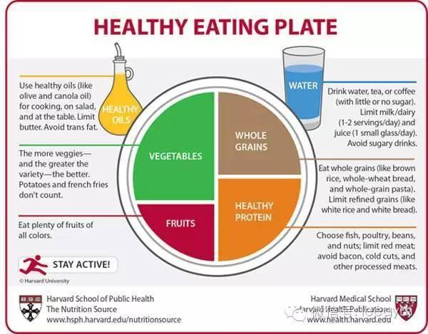6个哈佛大学的健康饮食新指南