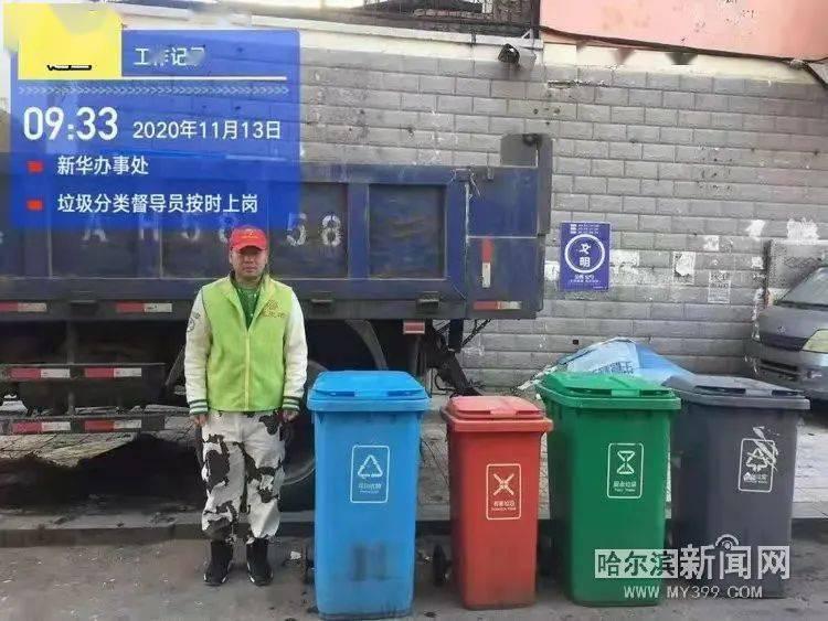 市容业务员长期下沉一线 督促垃圾分类督导员在岗履职