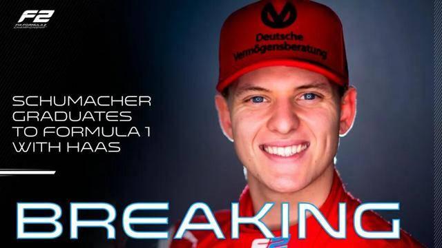 """时隔八年,""""舒马赫""""重返F1"""