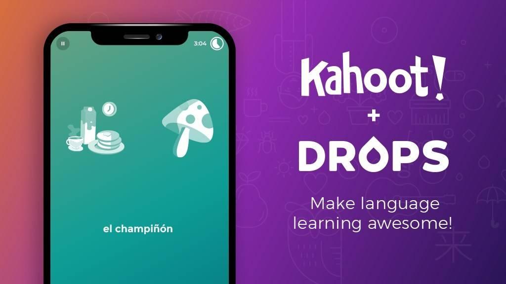 获软银投资后,Kahoot以5000万美元收购语言学习平台Drops