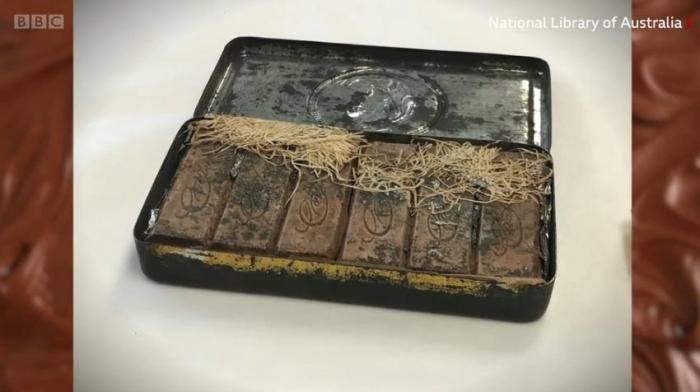 澳大利亚发现120年前巧克力 还散发着有趣的气味