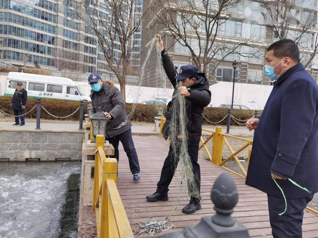 【执法监管】河面不结冰坚决不撤退!海淀渔政巡守河道28个日夜,严打非法捕捞