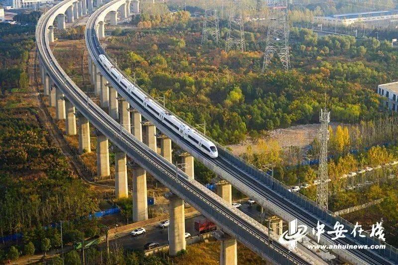 2329公里!安徽高铁运营里程全国第一!